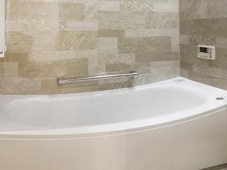バスルームリフォーム ゆっくりくつろげる、高級感のある浴室&洗面所