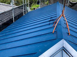 外壁・屋根リフォーム 将来を考えた、災害に強い屋根